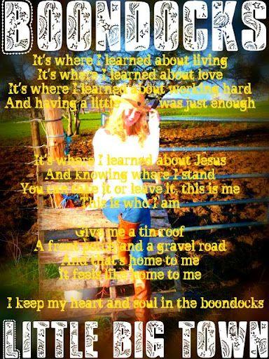 Country Music Lyrics #Little Big Town