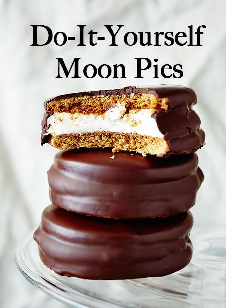 DIY Moon Pies. A homemade take on the South's marshmallow treat.
