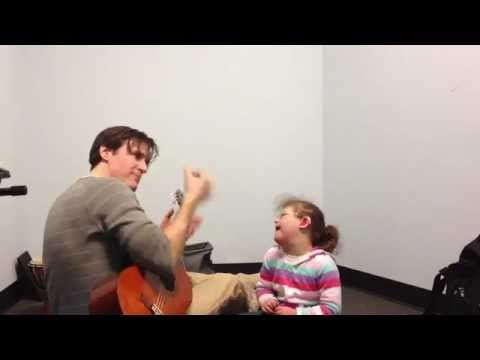 Laughter and Music Motivates a Child with Down Syndrome!