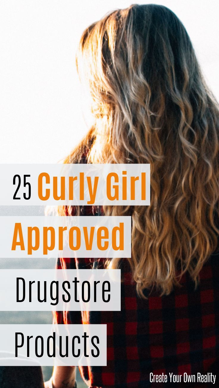 25 Curly Woman Authorized Drugstore Merchandise