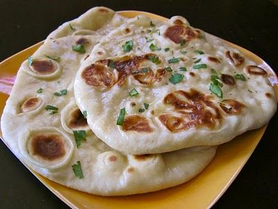 homemade naan recipe. this bread is hands down divine.