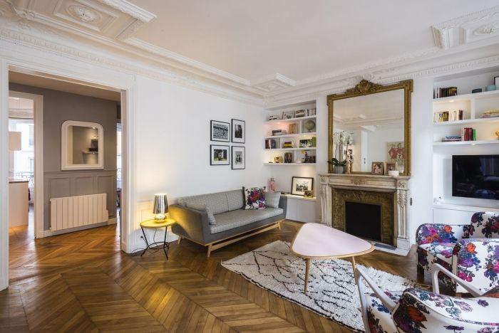 101m² - Paris 9e aménagé et décoré par la décoratrice d'intérieur Vanessa Faivre