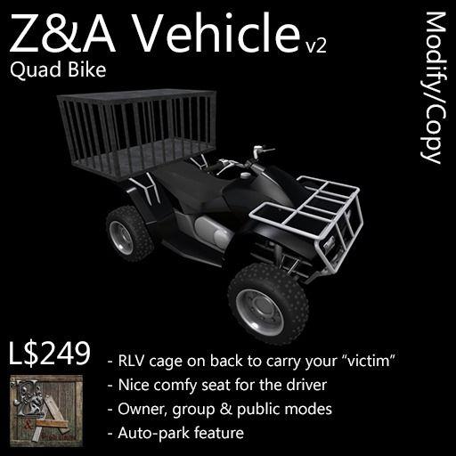 Z&A Vehicle (Quad Bike)