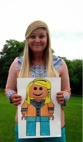 Exploring Art: Elementary Art: 5th Grade Lego Self Portraits