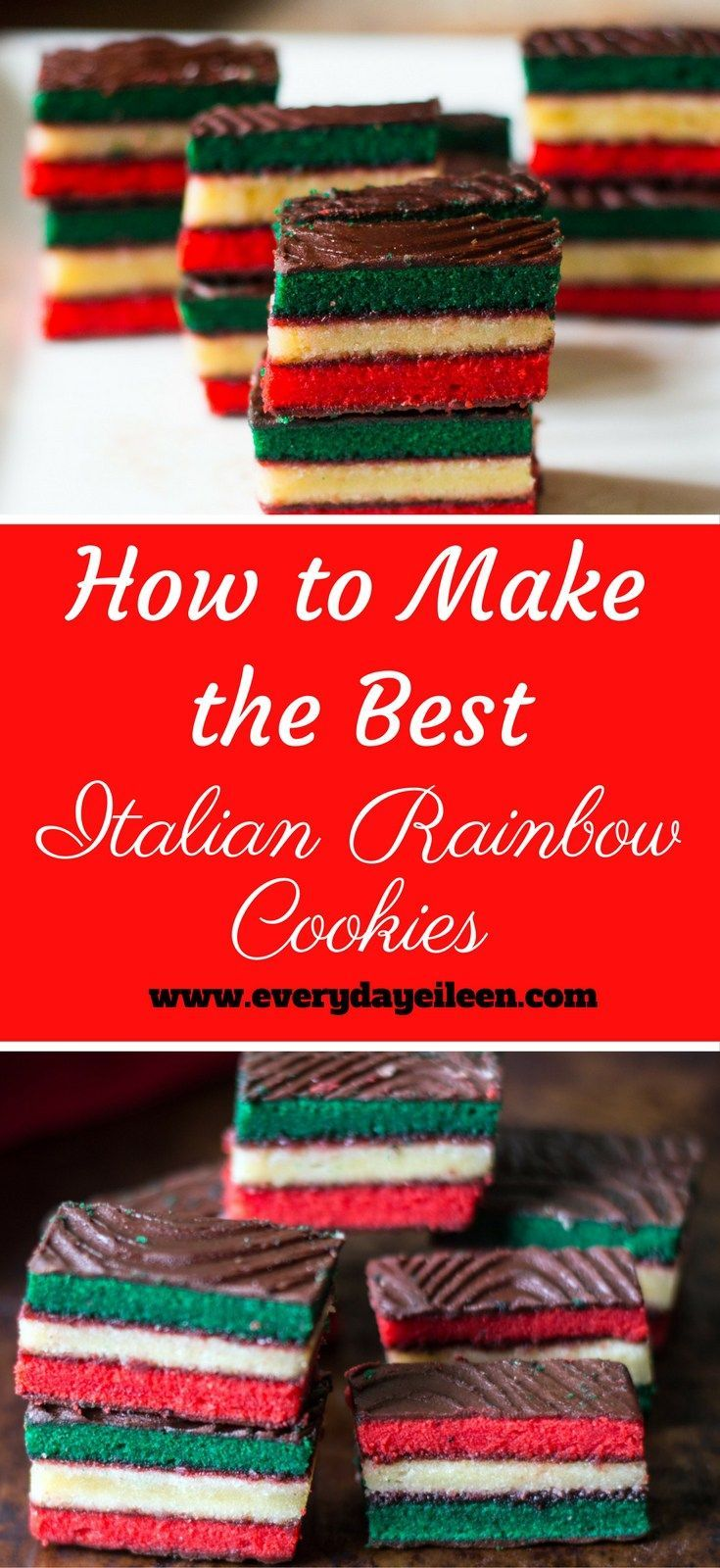 How to Make the Best Italian Rainbow Cookies talian Rainbow Cookies are so popular at many bakeries .Make them at home for an even better flavor ! Perfect for Holidays and family gatherings #ChristmasCookies #HolidayCookies #ItalianCookies #CookieExchange #baking #cookies