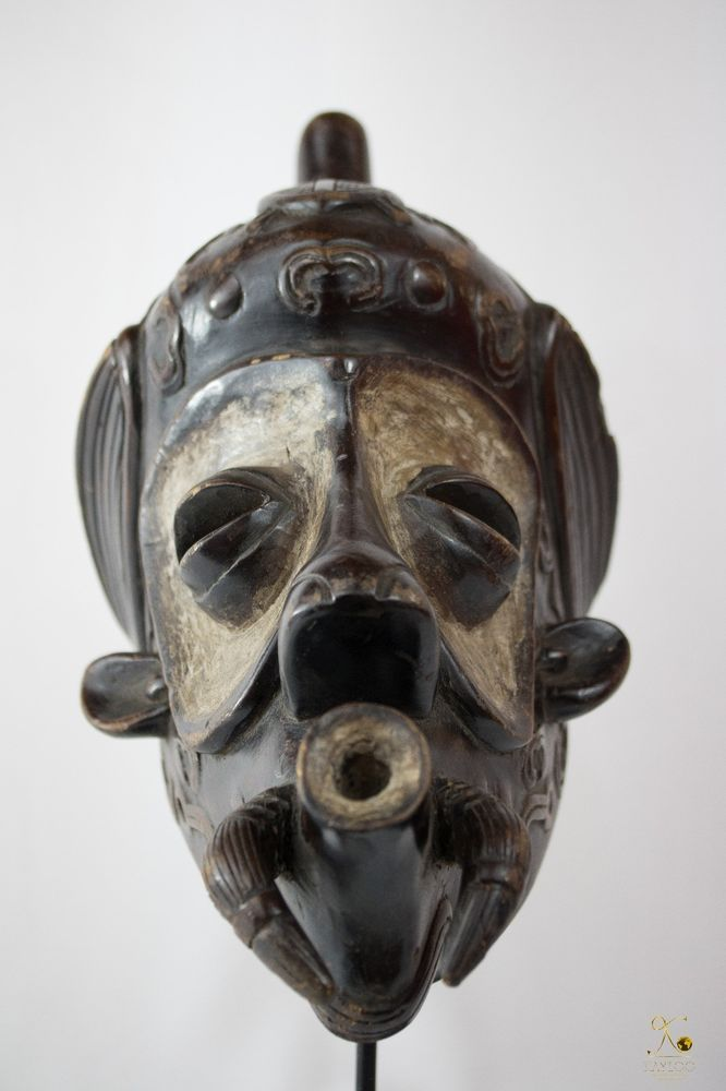 Luluwa (Lulua) African Mask - Congo DRC