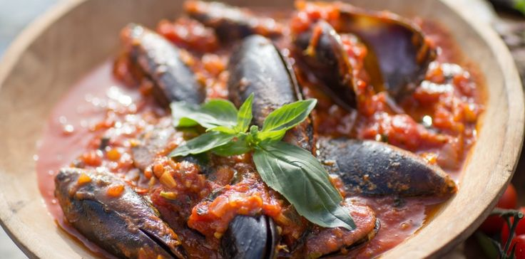 #recipe Tomato & Basil #Mussels by Team Sugar and Spice
