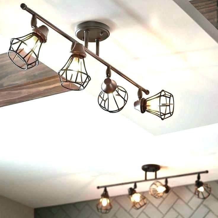 Kitchen Lighting Rustic, Replace Fluorescent Light Fixture With Chandelier