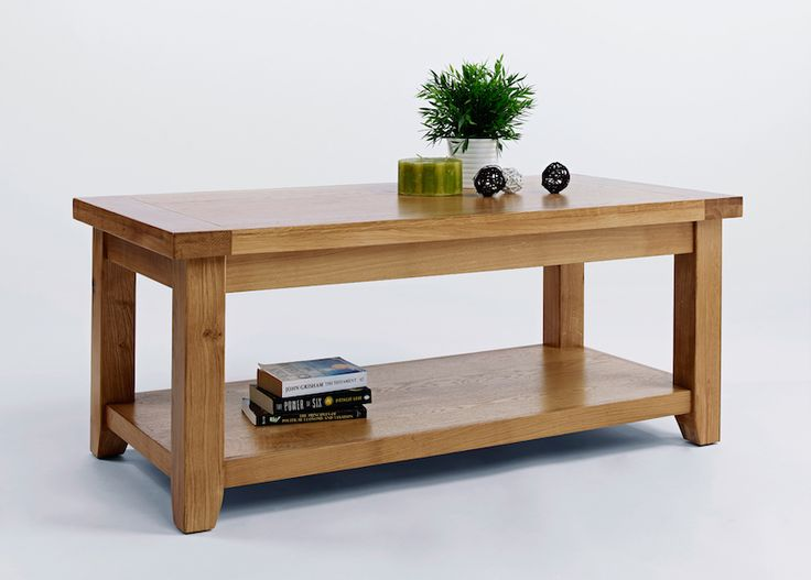 Get this quality oak coffee table at the super value Good Home Online furniture store.