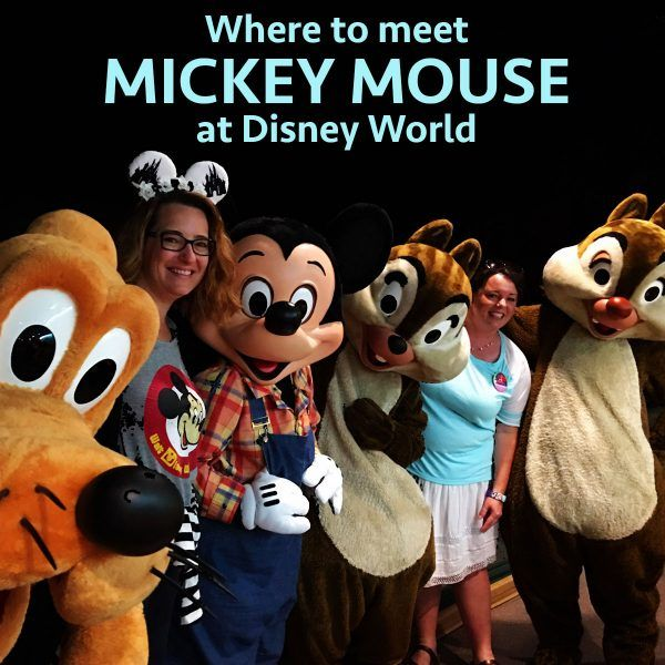 Where to meet Mickey Mouse at Disney World - Character meals & character meet and greets