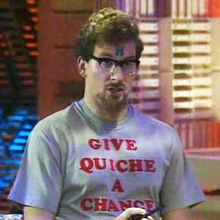 Give Quiche a Chance - Red Dwarf inspired £14.99