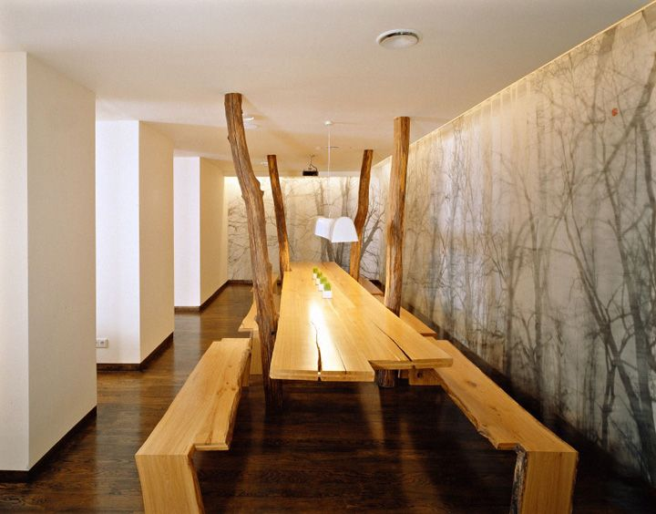 cafe april by ryntovt design moscow store design - Light Hardwood Restaurant Decoration