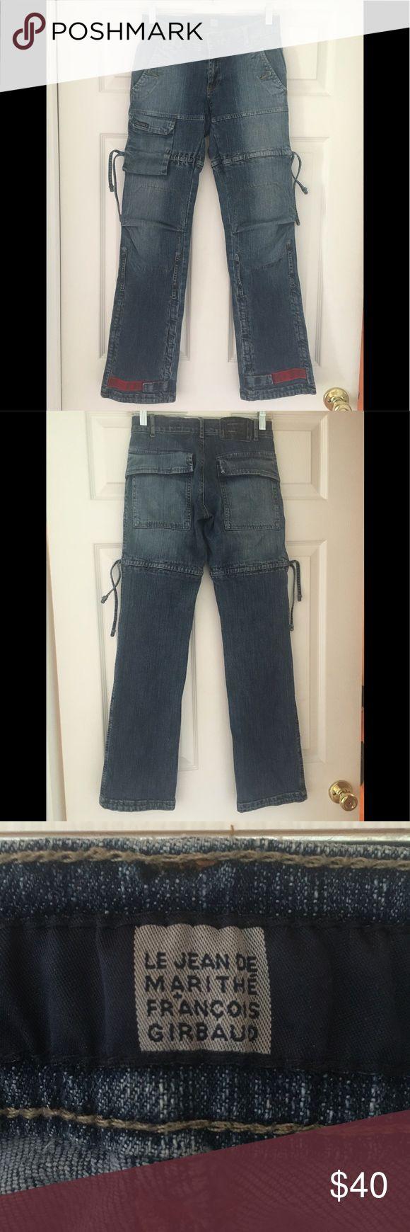 le jean de marithe francois girbaud jeans Rare le jean de marithe francois girbaud jeans in size 24 in great condition. Jeans Boyfriend