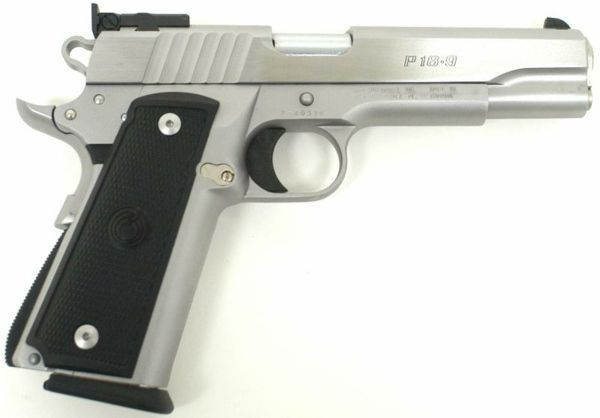 Para-Ordnance P18-9 pistol, caliber 9mm Luger / Parabellum.Loading that magazine is a pain! Get your Magazine speedloader today! http://www.amazon.com/shops/raeind