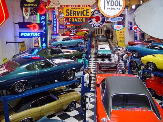 Best Super Garages Images On Pinterest Man Cave Garage Car