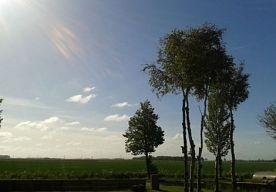 2-Jun-2013 12:36 - NEDERLAND GENIET VAN ZOMERWEER. Haal de slippers, zonnebril en zomerkleren maar uit de kast. Er komt mooi zomerweer aan, voorspelt SBS-weerman Piet Paulusma. Dat is genieten geblazen voor mens en dier.  Na een vrij grauwe zaterdag hebben de weergoden met ingang van zondag zon en lekkere temperaturen voor Nederland in petto. Waar de maximumtemperaturen zondag niet boven de 17 graden Celsius uitkomen, klimmen ze volgens de weerman tegen het einde van de week op naar de 21...