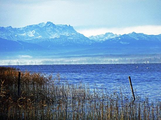 Ammersee, Alpen