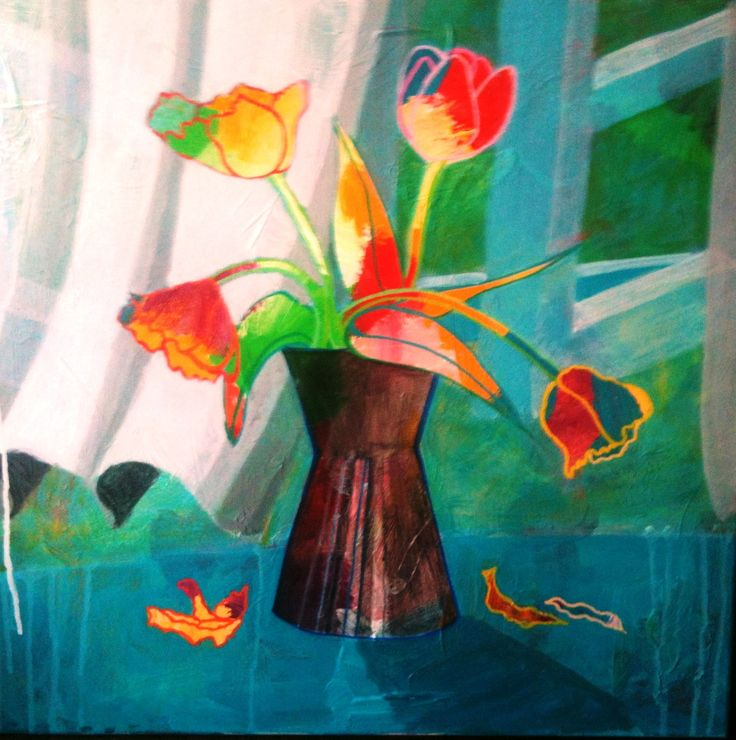 """Flowers in a vase"" 2013"