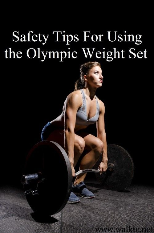 Safety Tips For Using The Olympic Weight Set