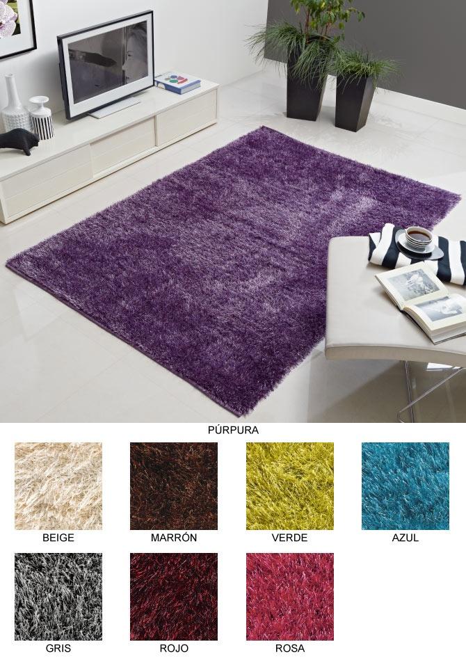 alfombras modernas alfombra duet shaggy lusotufo