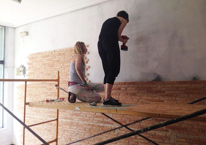 1000 images about manualidades diy on pinterest merlin - Pasos para pintar una pared ...