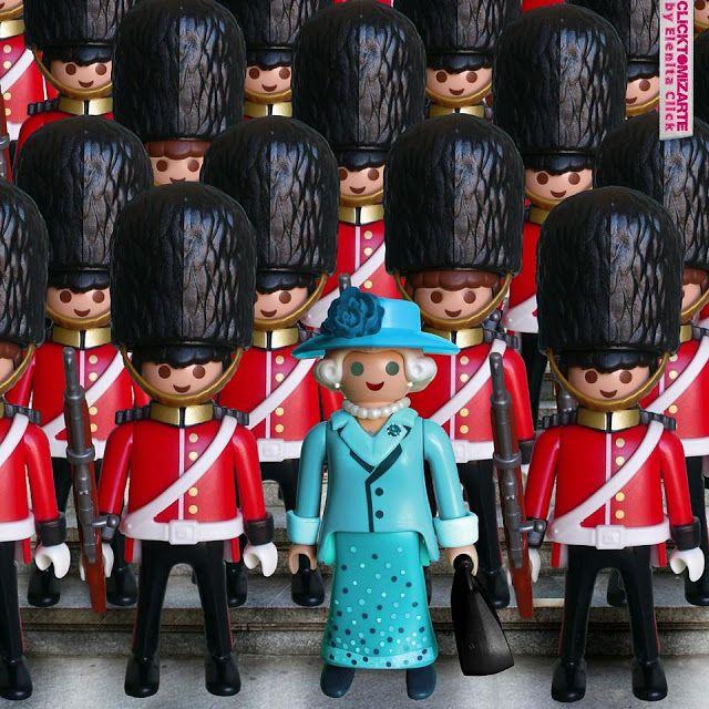Clicktomizarte by Elenita Click: Queen's Guard #clicktomizada