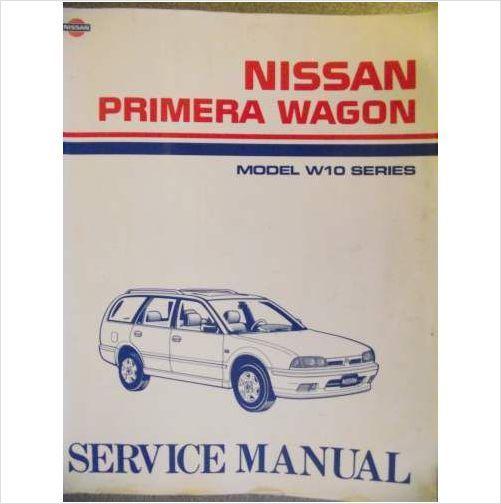 Nissan W10 Primera Wagon Service Manual 1990 Sm1e0w10g0 On