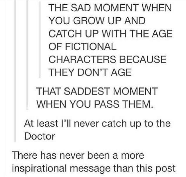 Technically now isn't the Doctor a couple billion years old from that one episode with 12 where he was trapped in a never ending cycle of death for billions of years?