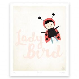Lady Bird - Art Print