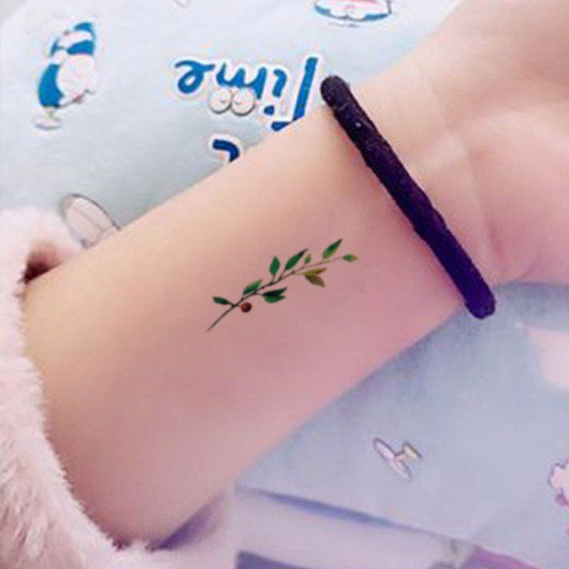 Tatouage temporaire étanche – Chambre rose   – Tattoos