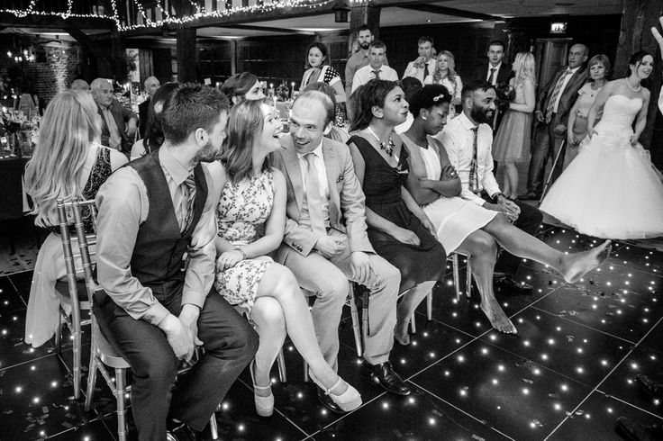 Musical chairs game - planned by The Bespoke Wedding Company