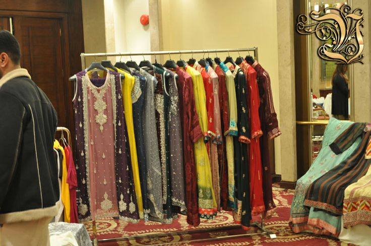 Vestiarie Clothing's Fabric in Fashion Exhibition at PC Rawalpindi.