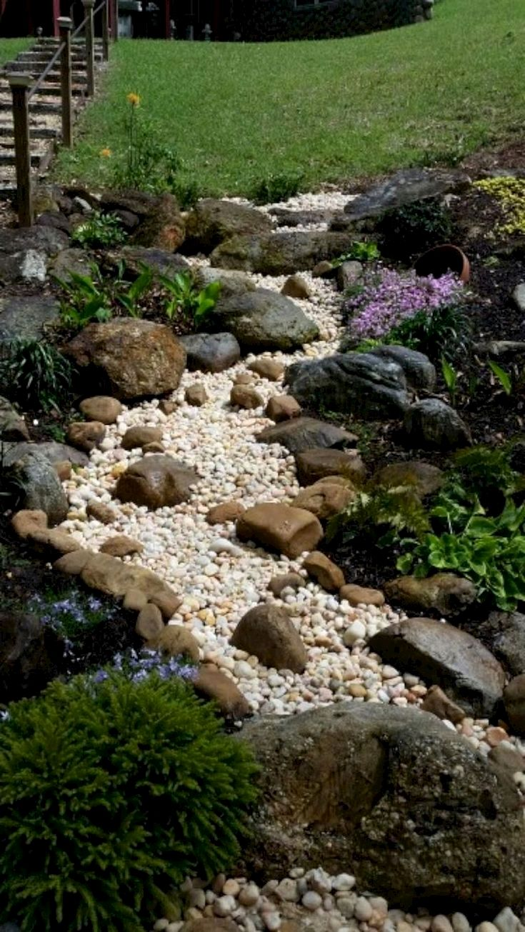 How To Make Front Yard Beautiful Landscaping On A Hill Rock Garden Landscaping Pathway Landscaping