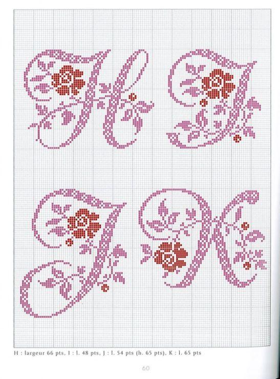 Gallery.ru / Фото #41 - Belles lettres au point de croix - logopedd