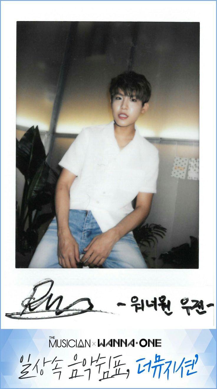 Wanna One x The Musician Polaroids - Park Woojin