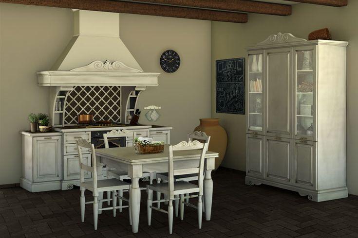Cucina shabby chic in stile provenzale romantico for Casa stile shaker