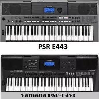 ritmos teclado yamaha psr e333 e343 e353 e433 e443 e453 e +