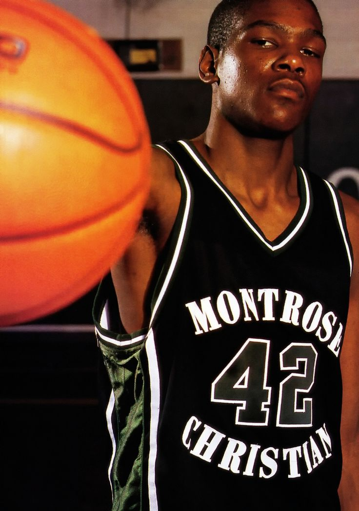 Kevin Durant in high school