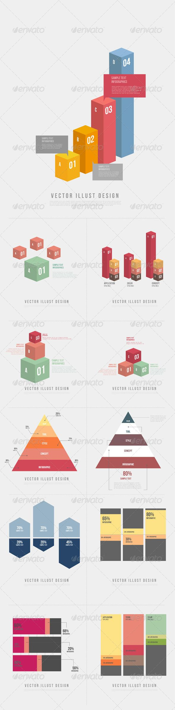 Infographics Template #design #infografik Download: http://graphicriver.net/item/infographics-graph-012/6933397?ref=ksioks