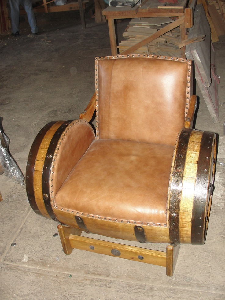Nice Piece Of Furniture Made Out Of Tequila Barrels