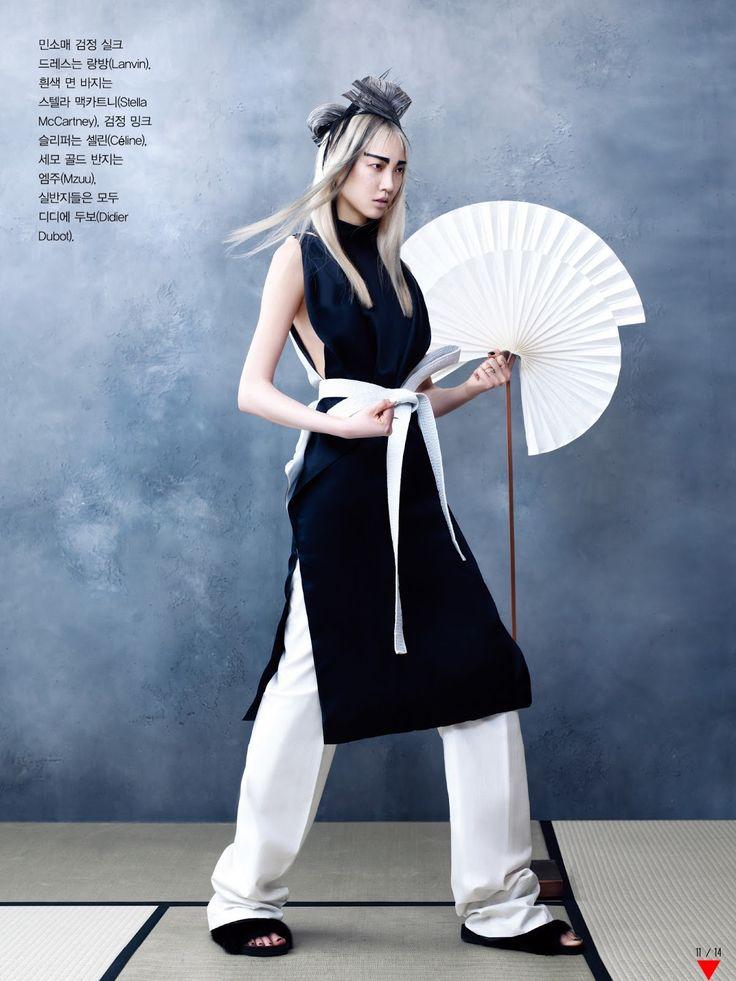 martial arts: soo joo by hyea w. kang for vogue korea june 2013 | visual optimism; fashion editorials, shows, campaigns & more!