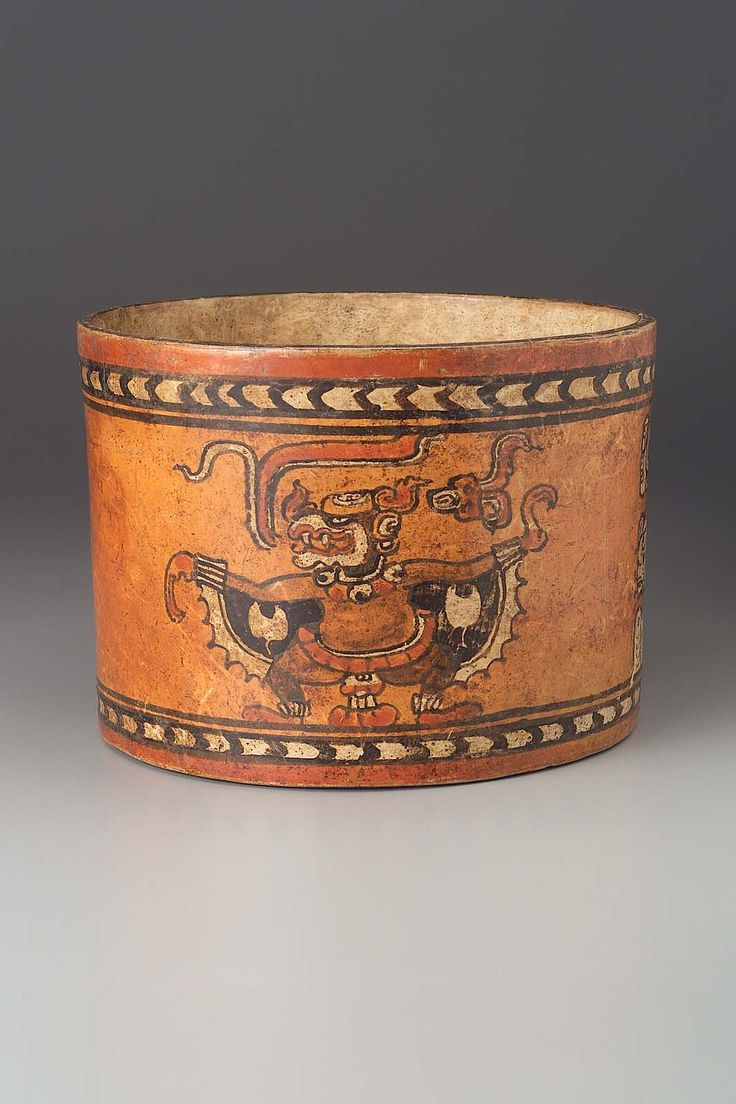 instituto nacional de anthropologia e historia mexico city see more cham style cylinder vase maya late classic period 700 800 ad