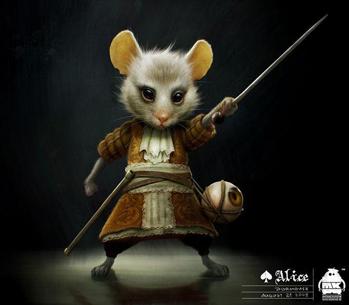 Соня мышь из алисы в стране чудес картинки
