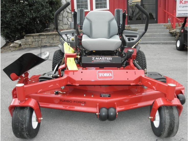 Toro Z Master 6000 Series 72 Zero Turn Mower 25 5 Hp