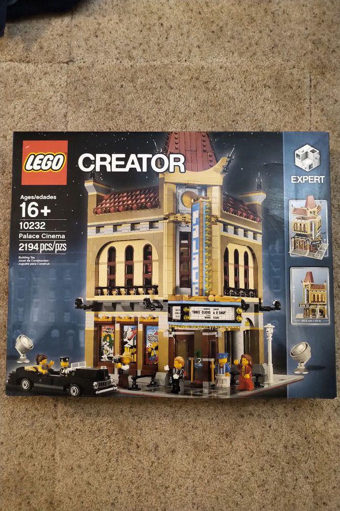 LEGO Bausteine & Bauzubehör LEGO Bau- & Konstruktionsspielzeug LEGO 10232 Creator Palace Cinema 2194 Pieces Lego Block Toy