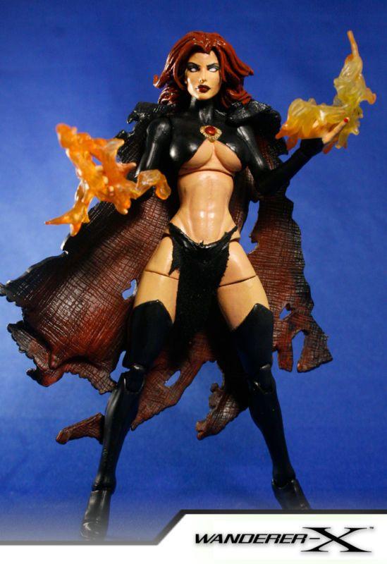 Madelyne Pryor the Goblin Queen (Marvel Legends) Custom Action Figure