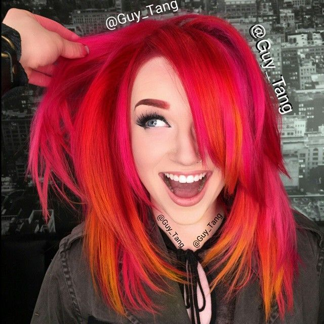 """#HairBesties Check out the new video transformation with @mykie_  using @olaplex to create this """"pubes to paradise"""" link is in my bio and subscribe for more videos."""