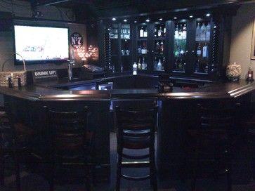 Corner Bar traditional bar tables