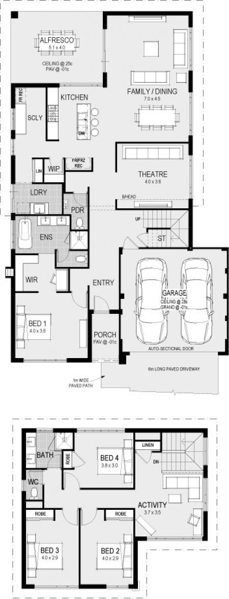 The Atello floorplan