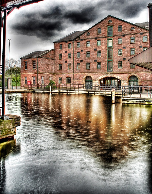 Victoria quays, Sheffield - England